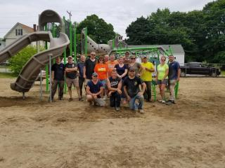 The best Playground building team in the land!