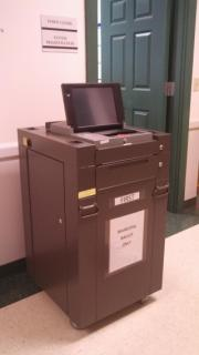 Picture of Voting Machine