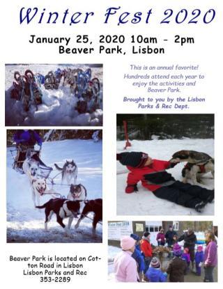 Beaver Park Winter Festival 2020