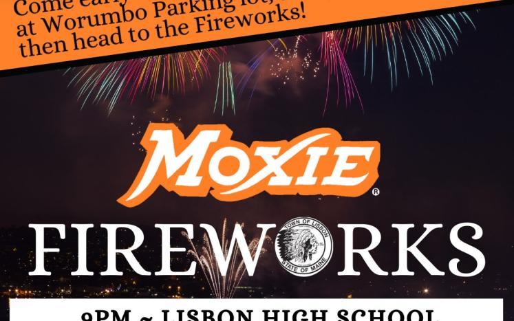 Lisbon Fireworks Postponed Until Monday, July 5th at 9pm