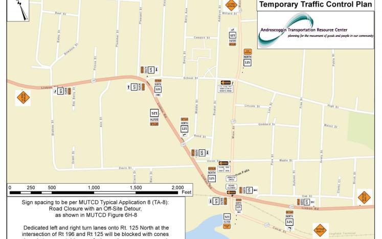School Street Detour for Upcoming Main Street Closure